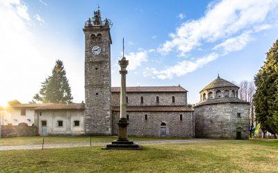 Basilica Battistero Torre Campanaria Arsago Seprio - © Marco Tessaro