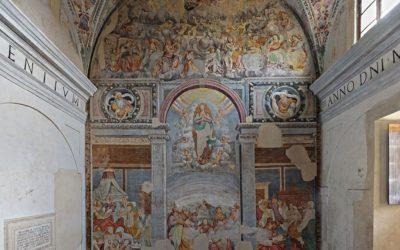 Ciclo dell'Assunzione di Maria dipinto da Aurelio-Luini e dalla sua scuola - 1560